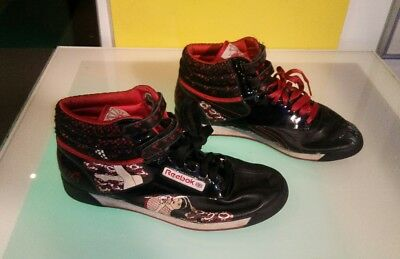 f182a213e9d77 Vintage Reebok Freestyle 25th anniversary Queen of Hearts rare women s size  8