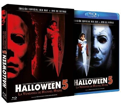 Halloween 5 La Venganza de Michael Myers Bluray + DVD Extras edición exclusiva