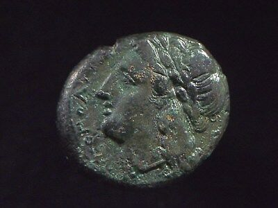 Authentic Greek coin form city of Neapolis in Campania 270-240 BC CC8761