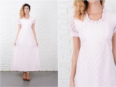 efc9307e19d Vtg 70s JcPenney Womens PinkLavender Frilly Prom Dress Prairie Off Shoulder  Maxi.  18.00 Buy It Now 6d 13h. See Details. Vintage 70s White + Pink Boho  ...