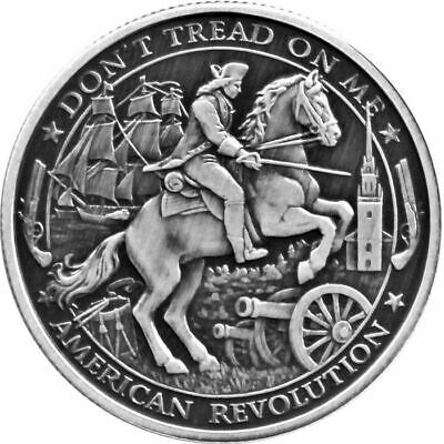1 - 1 oz .999 Silver Round - Patriot - American Revolution (Series 1) Proof Like