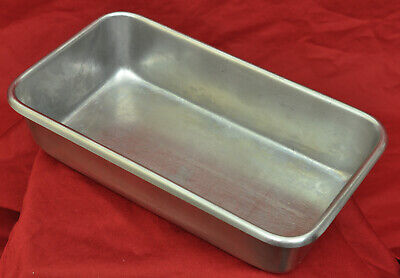 "Vintage Polar Ware Stainless Steel Instrument Tray Model S-90 9"" X 5"" X 2"""
