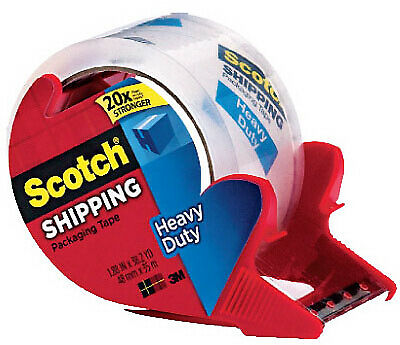 3M COMPANY Heavy Duty Shipping Packaging Tape, 1.88-In. x 38-Yds. 3850S-RD