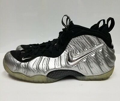 sports shoes 59365 c5ae3 Nike Air Foamposite Pro Silver Surfer, Men s, Silver   Black, Size 11.5