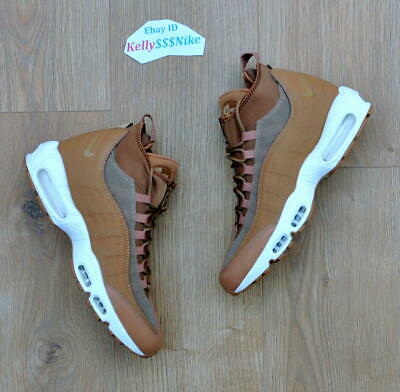Look For The Nike Air Max 95 Sneakerboot Flax Now   Nike air