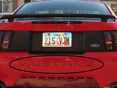 Rear Bumper Letters Compatible with 2018-2020 Ford F150 Blue Line Eurosport Daytona