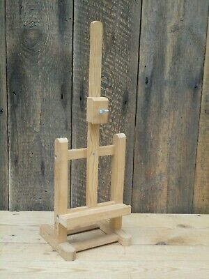 Small Wooden Tabletop Easel Art Painting Craft C6