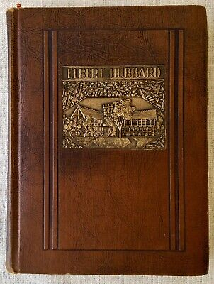 1928 Elbert Hubbard Little Journeys Vol. VII Antique Book Arts & Craft Roycroft