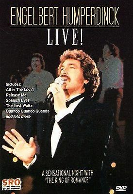 Engelbert Humperdinck Live Music New Dvd