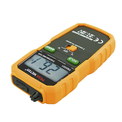 Digital Temperature Meter Wireless K-Type Thermocouple Thermometer Standard