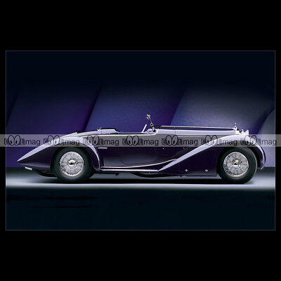 #pha.015525 Photo DELAGE D8 100 SS SPEEDSTER 1932 Car Auto