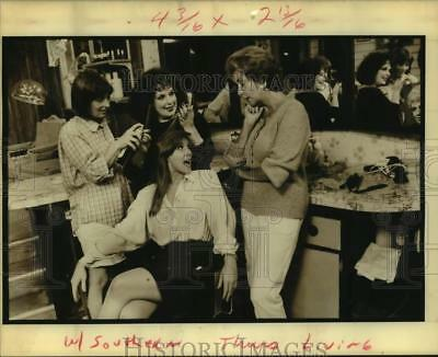 "1989 Press Photo Cast of the ""Steel Magnolias"" Play - nop60576"