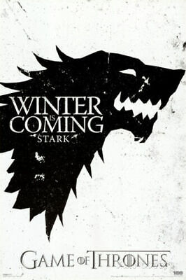 Game Of Thrones Winter Is Coming Stark Poster