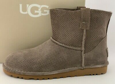 cd48cf7b5ad NIB UGG AUSTRALIA Classic Unlined Mini Perforated Boots 1016852 ...