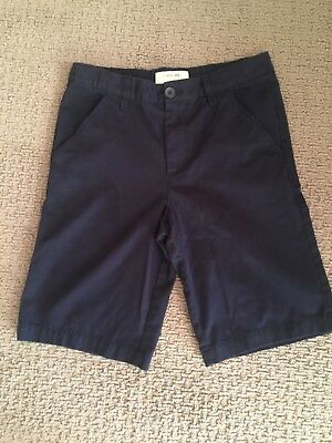 Boys Cherokee Navy Uniform Shorts adjustable, size 16 EUC