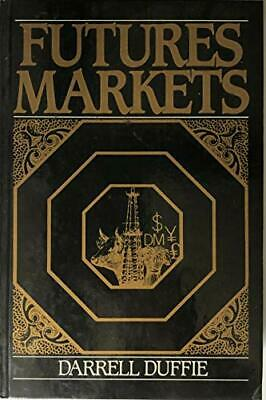 Futures Markets by Duffie, Darrell Hardback Book The Cheap Fast Free Post