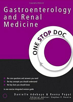 Gastroenterology and Renal Medicine (One Stop D... by Danielle Adebayo Paperback