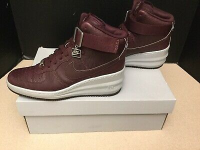 sports shoes 91b03 33e44 Womens Nike Lunar Force 1 Sky Hi Wedge Sneakers. Size 8. Worn Once!