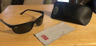 6916725ce3c2 RAY-BAN RB2027 PREDATOR 2 Polarized Sunglasses Black  Grey Mirror ...