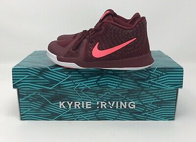 sports shoes be23e 9246d Nike Kyrie 3 Irving Toddlers 869984-681 Boys Sz 9c BASKETBALL SHOES No-Tie