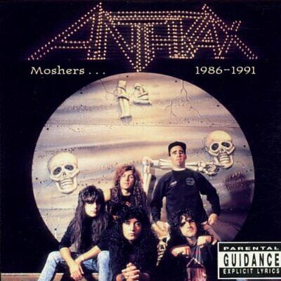 Anthrax - Moshers... 1986 - 1991 - Anthrax CD 75VG The Cheap Fast Free Post The