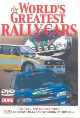 The World's Greatest Rally Cars [DVD] - DVD  JYVG The Cheap Fast Free Post