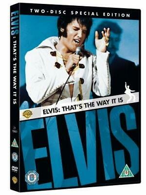 Elvis: That's The Way It Is (2-Disc Special Edition) [DVD] [1970] - DVD  XCVG