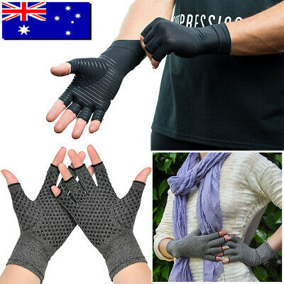 Carpal Tunnel Pain Relief Arthritis Gloves Compression Support Hand Wrist Brace