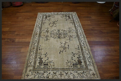 Pleasing Light Colors semi antique 4x7 Anatolian Oriental Area Rug