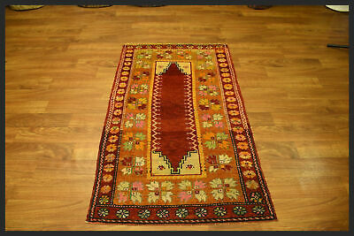 Beautiful Colors Semi Antique 3x5 Hereke Turkish Oriental Area Rug