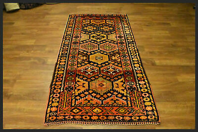 Beautiful Warm Colors Semi Antique 4x7 Hereke Turkish Oriental Area Rug