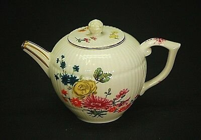 Furstenberg Miniature Tea Pot Victoria & Albert Museum Franklin Mint Porcelain