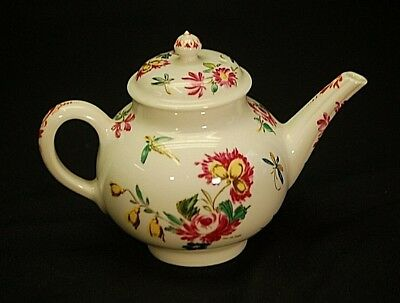 Bow Miniature Tea Pot Victoria & Albert Museum 1985 Franklin Mint Porcelain
