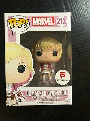 Funko Pop! Marvel GWENPOOL #213 Walgreen Exclusive Avengers Endgame Spider-Man