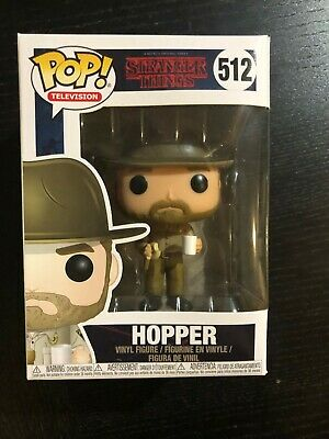 Funko Pop! Stranger Things HOPPER w/ Coffee #512 season 3 sci fi teen drama