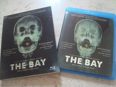 THE BAY rare Blu-Ray in lenticular slipcover Barry Levinson Kristen Connolly