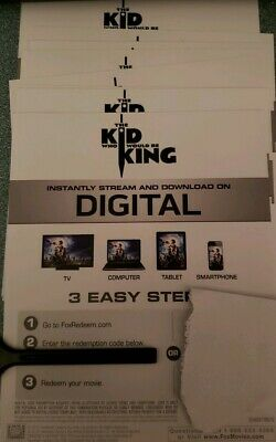 The kid who would be king Canadian movie code