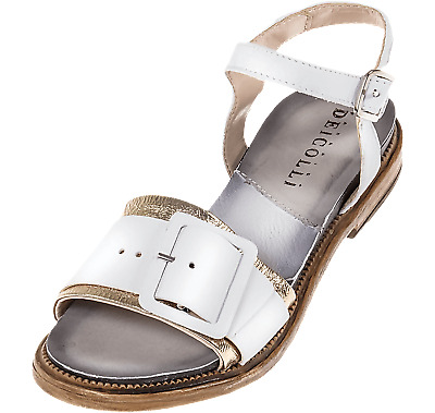 FABBRICA DEI COLLI Shoes Women high Heel Sandals 1URBAN100 Leather