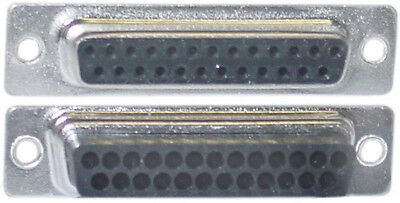 Lot10D-Sub Female/Plug DB25pin cable/wire Crimp/Crimping End/Connector$S{NO PINS