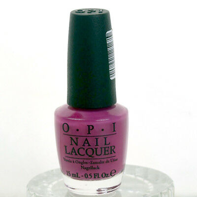 OPI Nail Lacquer Polish Kiss Me On My Tulips Hot Pink Full Size 0.5 oz