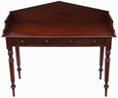 Antique William IV C1835 mahogany desk or writing table 4865