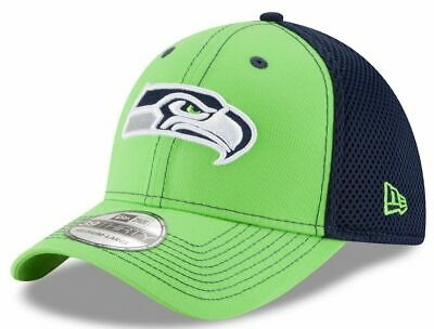 finest selection a12ed 8c37d Nfl Seattle Seahawks Hat New Era 39 Thirty Fitted Front Neo Cap S m