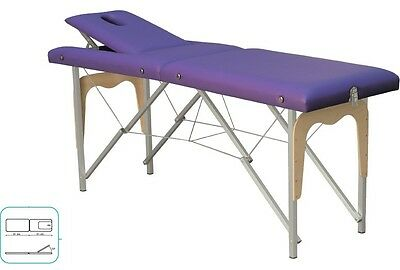 Table Thérapeutique, Lit de Massage, Couchette Pliable, Mobile