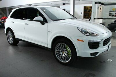2017 Porsche Cayenne E-Hybrid  2017 SUV Used Supercharger Gas/Electric V-6 3.0 L/183 Hybrid