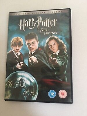 Harry Potter and the Order of the Phoenix DVD (2007) Daniel Radcliffe