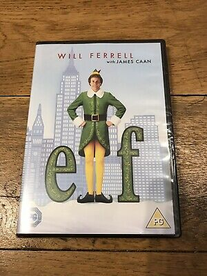 Elf (DVD, 2004) Will Ferrell New Sealed