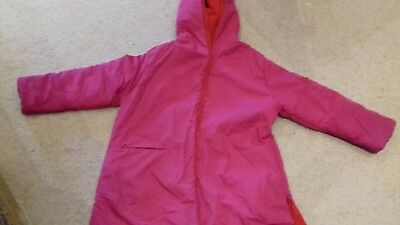 Kenzo Jungle Girls  Hot Pink / Red Reversible Jacket 8 yrs.Quirky Design