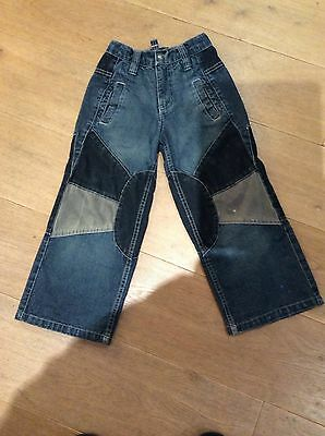 SALTY DOG Designer Blue Denim Trendy Jeans . Age 5