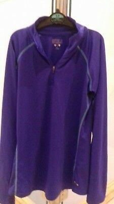 Girls Purple Workout Top Long Sleeved top from Girls @ Matalan Age 12-13