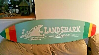 landshark surfboard and banner....free shipping
